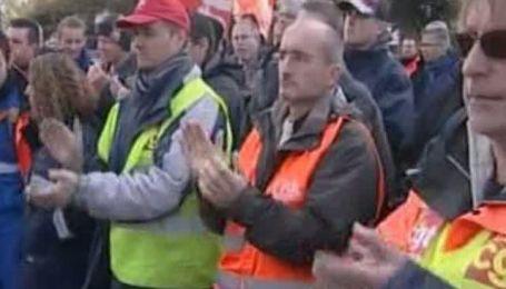 Все топливные хранилища Франции освобождены от бастующих