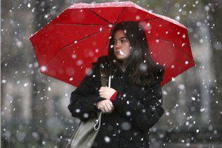 В среду в Киеве пойдет снег