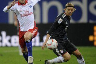 Тимощук потрапив у символічну збірну Бундесліги
