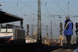 В Германии из-за забастовки ограничено железнодорожное движение