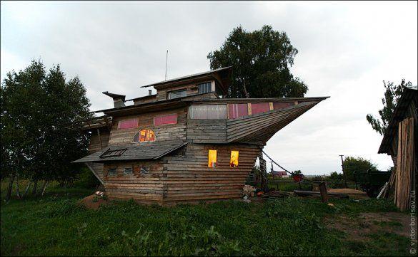 Будинок-корабель у Кемерово_9