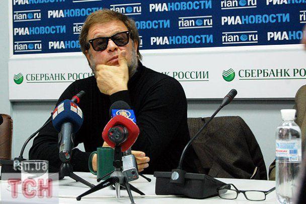 Гребенщиков в Киеве рассказал о вредных привычках