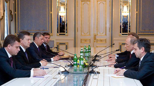 Путин отказался от обеда с украинскими бизнесменами