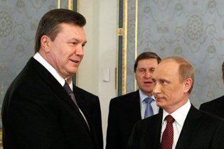 Путин прилетел в Крым к Януковичу