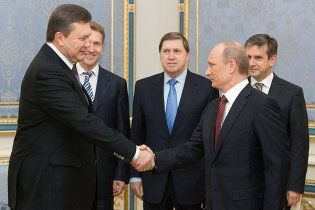 Путин поблагодарил Януковича за дружбу с Россией