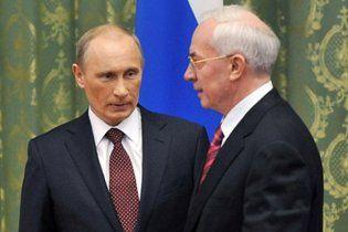 Азаров опять намекнул Путину на пересмотр газовых контрактов