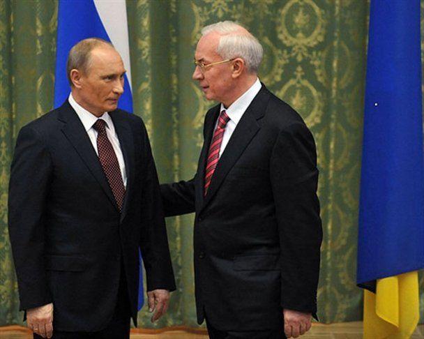 Путін приїхав до України із великим синцем на обличчі