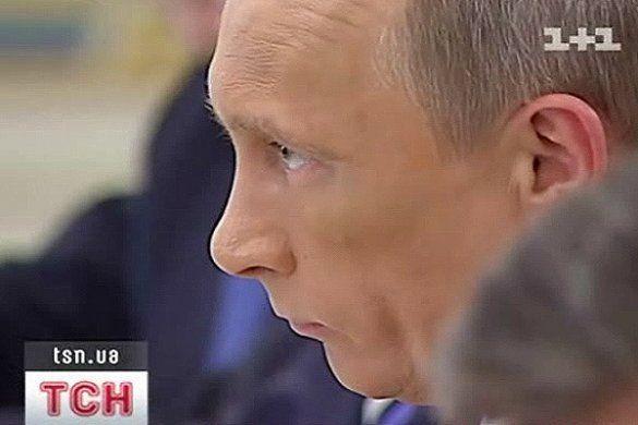 Путін приїхав до України із великим синцем на обличчі _4