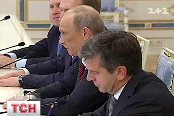 Синець Путіна порівняли зі спотвореним обличчям Ющенко