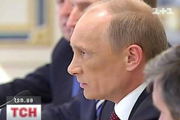Путін приїхав до України із великим синцем на обличчі _8