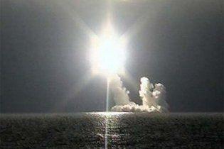 """14-й запуск російської ракети """"Булава"""" виявився успішним"""