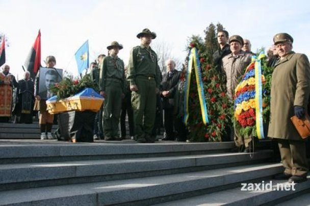 Во Львове перезахоронили близких соратников Бандеры