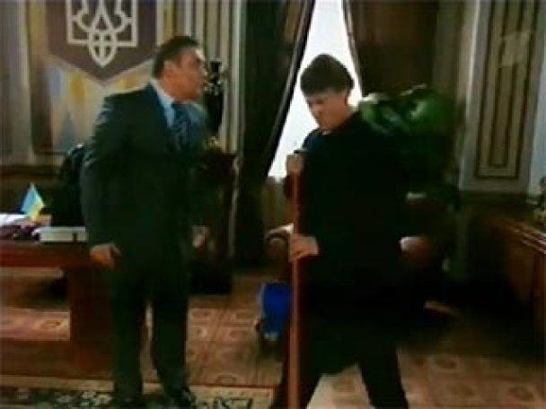 """Російський канал показав злу пародію на """"дружнього"""" Януковича (відео)"""