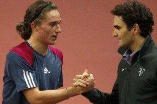 Федерер победил лучшего теннисиста Украины