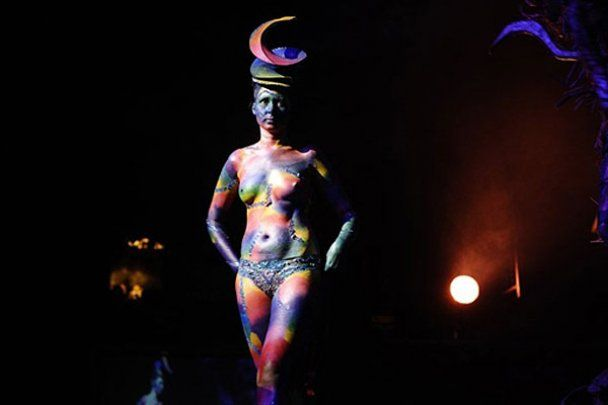 У Кейптауні провели конкурс розфарбованих тіл