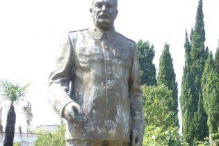 У Грузії загадково зник пам'ятник Сталіну