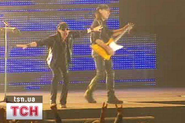 Прощальний концерт Scorpions у Києві