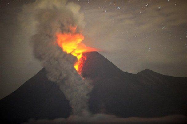 На Яві сталося ще більш потужне виверження вулкана Мерапі