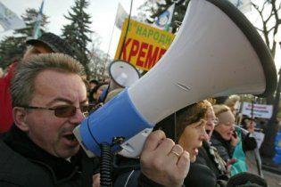 30-тысячную толпу предпринимателей призвали штурмовать Верховную раду