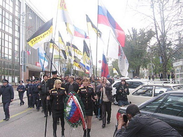 """Впервые за 4 года в Севастополе не пытались запрещать """"Русский марш"""""""