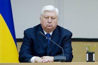 Пшонка рассказал, кто выдал санкцию на задержание Тимошенко