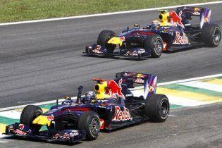 """Формула-1. """"Червоні бики"""" зробили золотий дубль у Бразилії"""