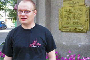 Російський журналіст Кашин написав першу колонку після побиття