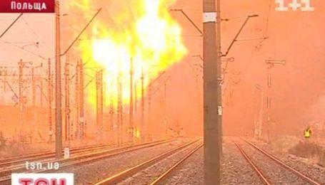 Масштабная железнодорожная авария в Польше