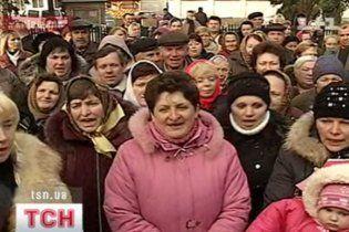 Под Киевом предреволюционная ситуация: селяне требуют честных выборов