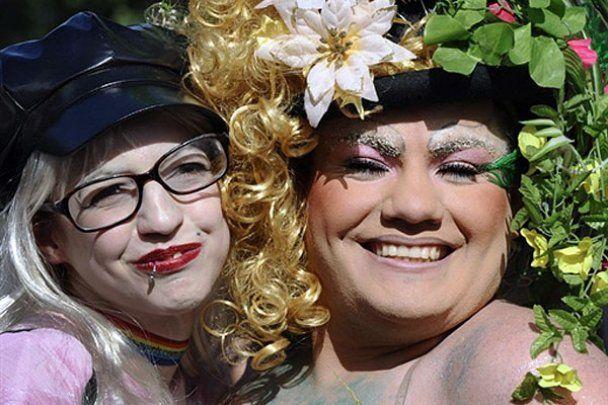 В Буэнос-Айресе провели гей-парад Gay Pride Parade