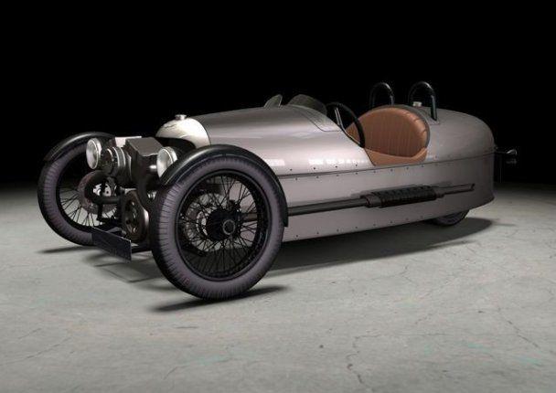 Morgan возрождает легендарный трехколесный автомобиль