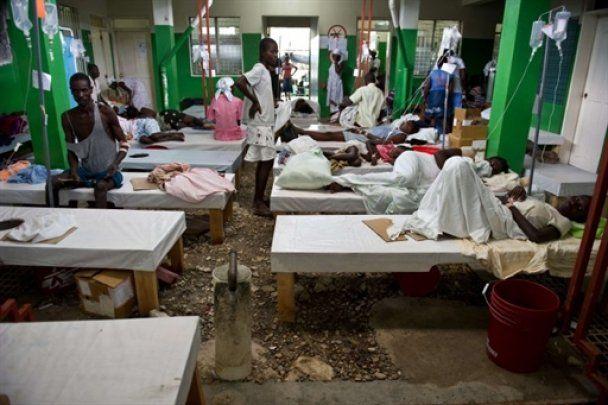 Епідемія холери досягла столиці Гаїті