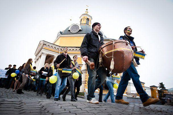 В Киеве отметили День украинской письменности и языка