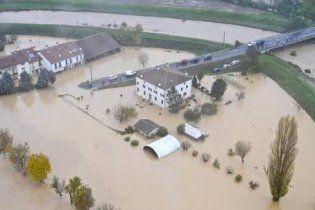 Наводнение затопило 14 провинций на юге Италии