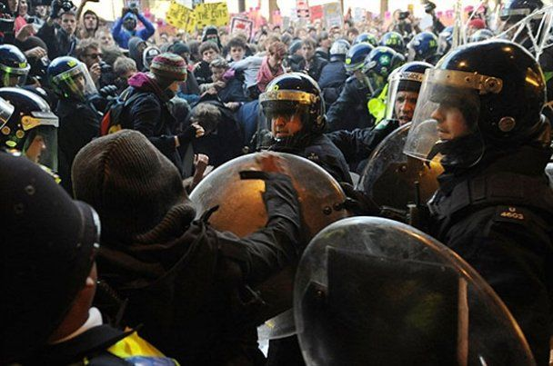 Студентський бунт в Лондоні