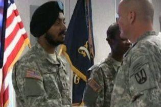 В американській армії вперше за 30 років буде служити солдат-сикх