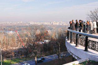 Януковичу подарили в центре Киева 2,28 га