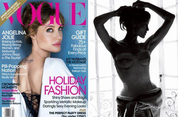 Спокуслива Анджеліна Джолі знялась для Vogue US