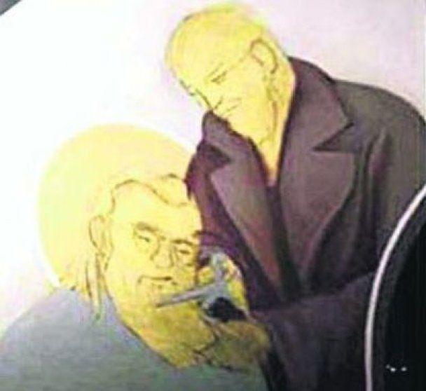 Верующие все чаще изображают на иконах политиков
