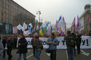 Суд запретил предпринимателям митинговать на Майдане