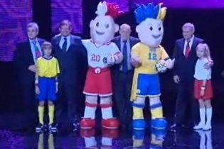 Талисманами Евро-2012 стали близнецы-супергерои
