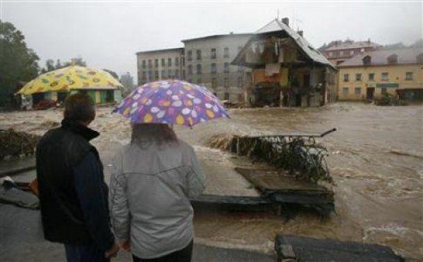 Мощные ливни затопили половину Европы