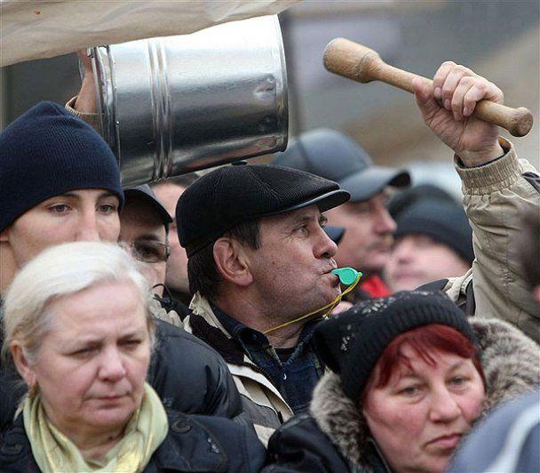Милиция готова разгонять митингующих предпринимателей
