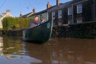 Ливни вызвали наводнение в Великобритании