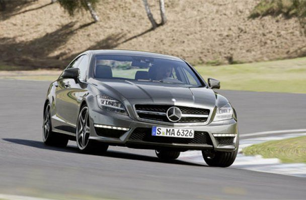 Mercedes-Benz официально представил купе CLS 63 AMG