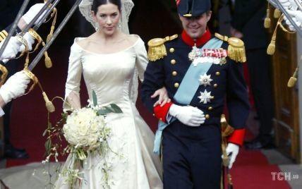 Святкують річницю весілля: згадуємо вінчання кронпринцеси Мері і кронпринца Фредеріка