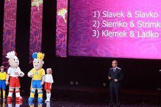 Талисманы Евро-2012 получат имена 4 декабря