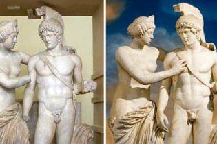 Берлускони прилепил античной статуе пенис