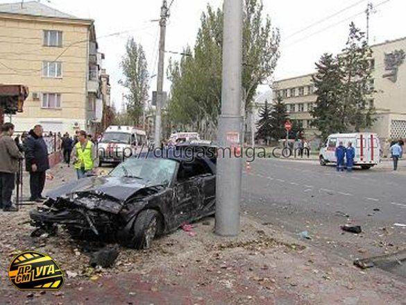 Аварія у Севастополі