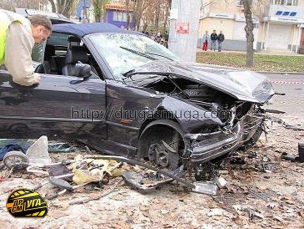 За кермом БМВ, що вбив жінку та двох дітей у Севастополі, був футболіст